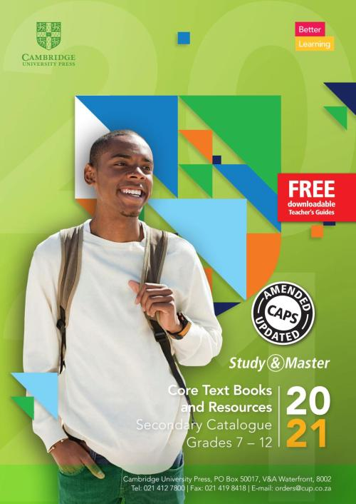 small resolution of South Africa Secondary Catalogue Grades 7 - 12 by Cambridge University  Press Education - issuu