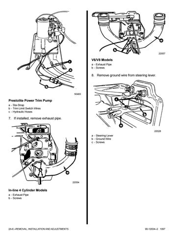Mercruiser Sterndrive MC 170MR Service Repair Manual