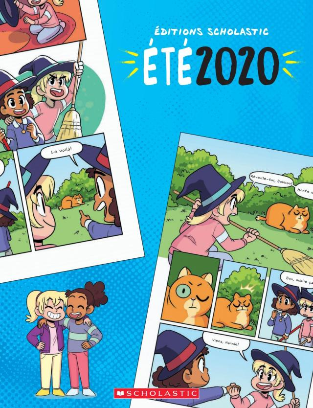 Scholastic Summer 30 French Catalogue by CrossCan Educational