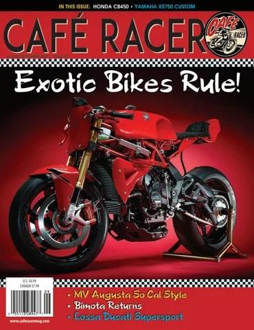Honda Monkey Cafe Racer Kit : honda, monkey, racer, Café, Racer, Magazine, Issue, Issuu