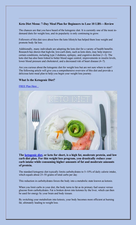 Fat Protein Efficient Diet Plan : protein, efficient, Menu:, 7-Day, Beginners, -Review, Guidozelaya, Issuu
