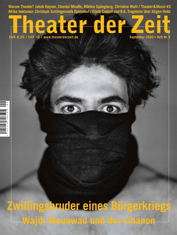 theater der zeit 09 2020