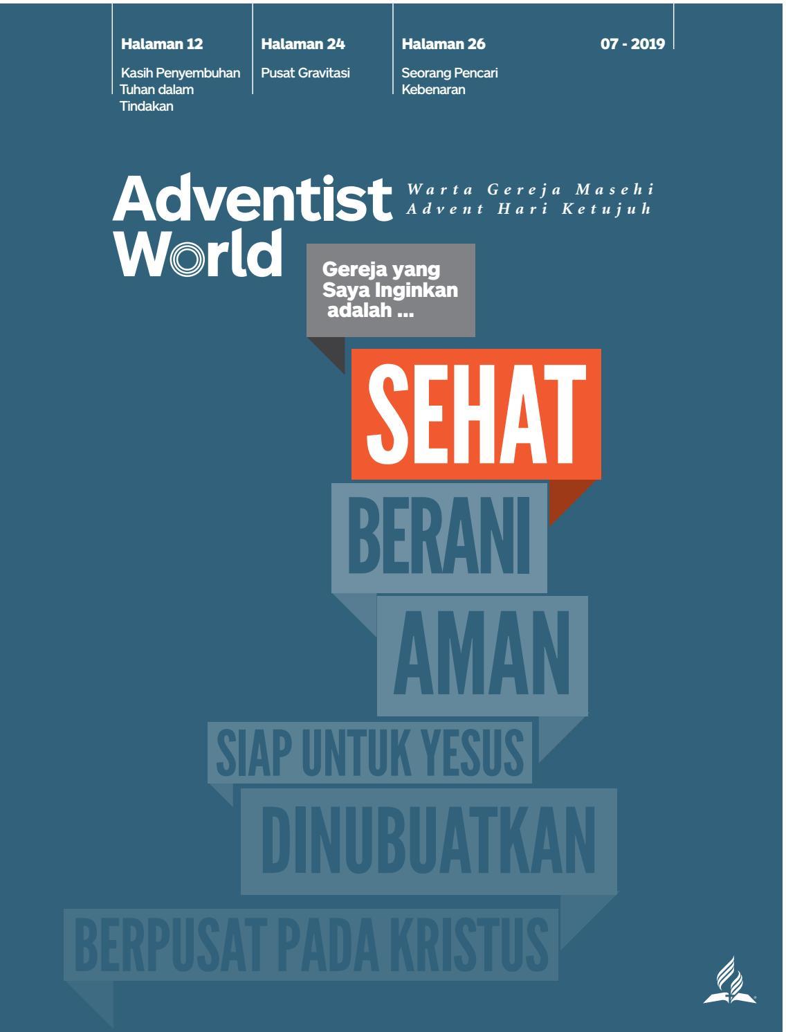 Orang Sengsara Tak Punya Harta Dan Tempat Tinggal : orang, sengsara, punya, harta, tempat, tinggal, Adventist, World, Indonesian, Magazine, Issuu