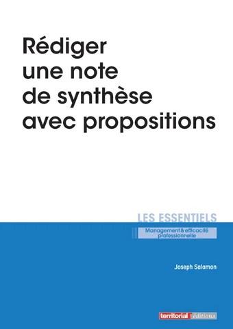 Faire Une Note De Synthèse : faire, synthèse, Rédiger, Synthèses, Propositions, INFOPRO, DIGITAL, Issuu