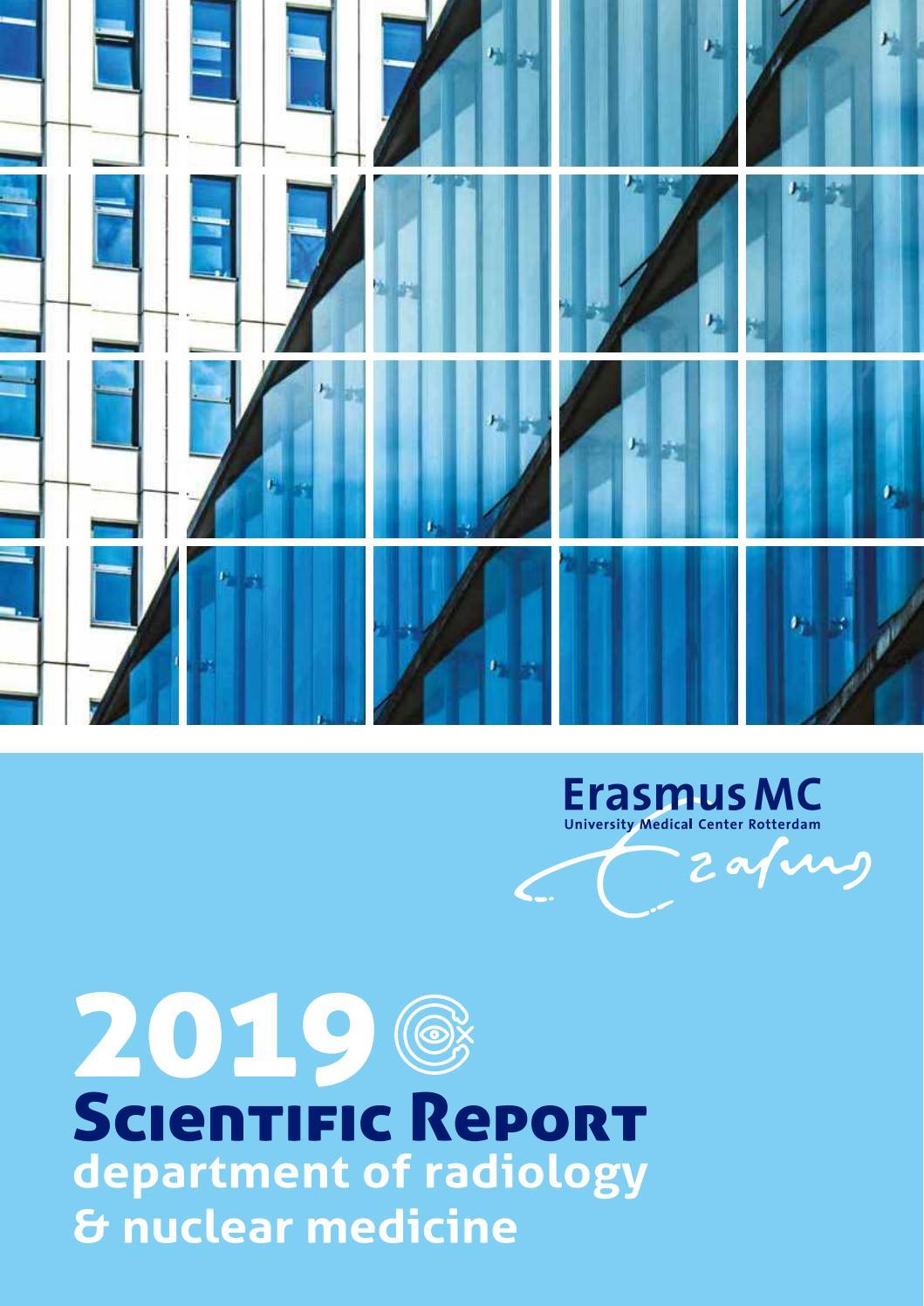 scientific report 2019 by erasmus mc