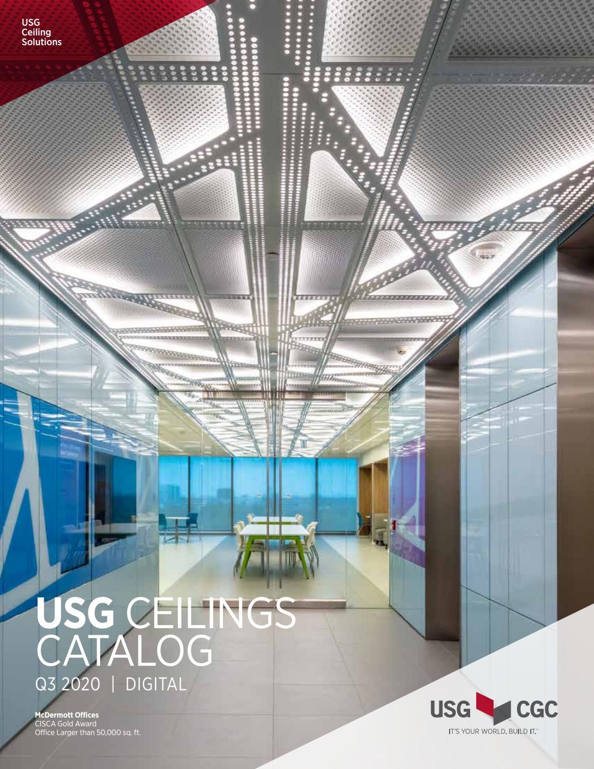 usg cgc ceilings catalog sc2000 by
