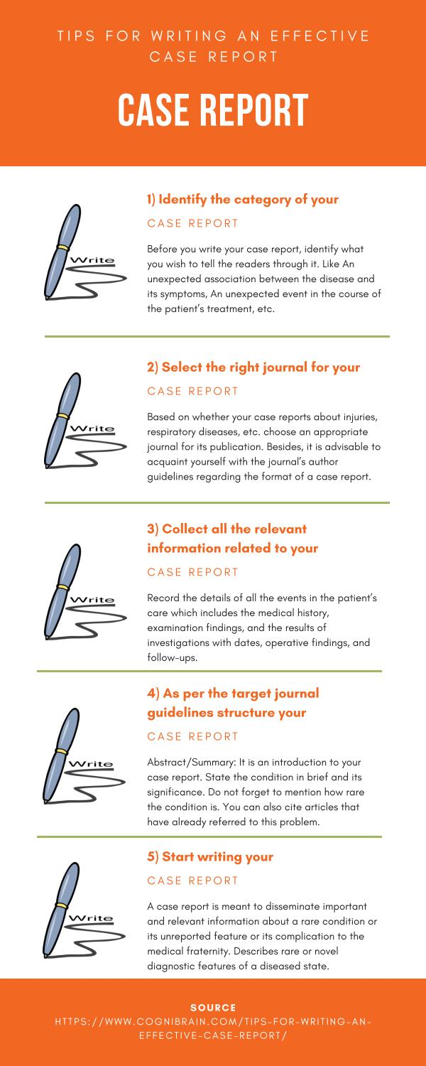 Case Report Writing Tips by CogniBrain - issuu