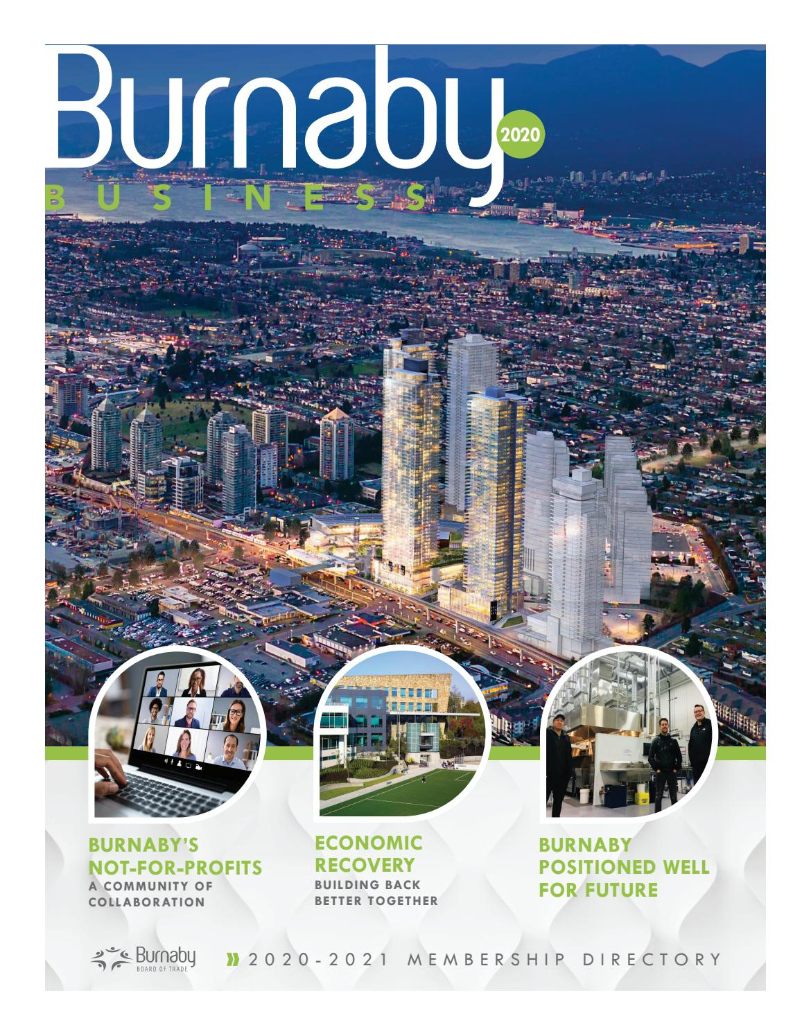 Burnaby Business 2020 By Burnaby Now Issuu