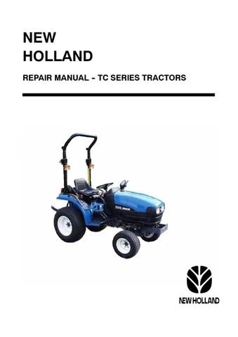new holland tractor tc18d tc21d repair