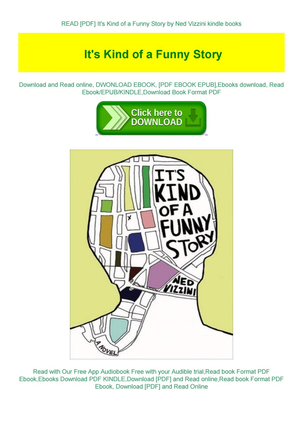 It's Kind Of A Funny Story Book Pdf Download : funny, story, download, [PDF], Funny, Story, Vizzini, Kindle, Books, TimothyMillerasa, Issuu