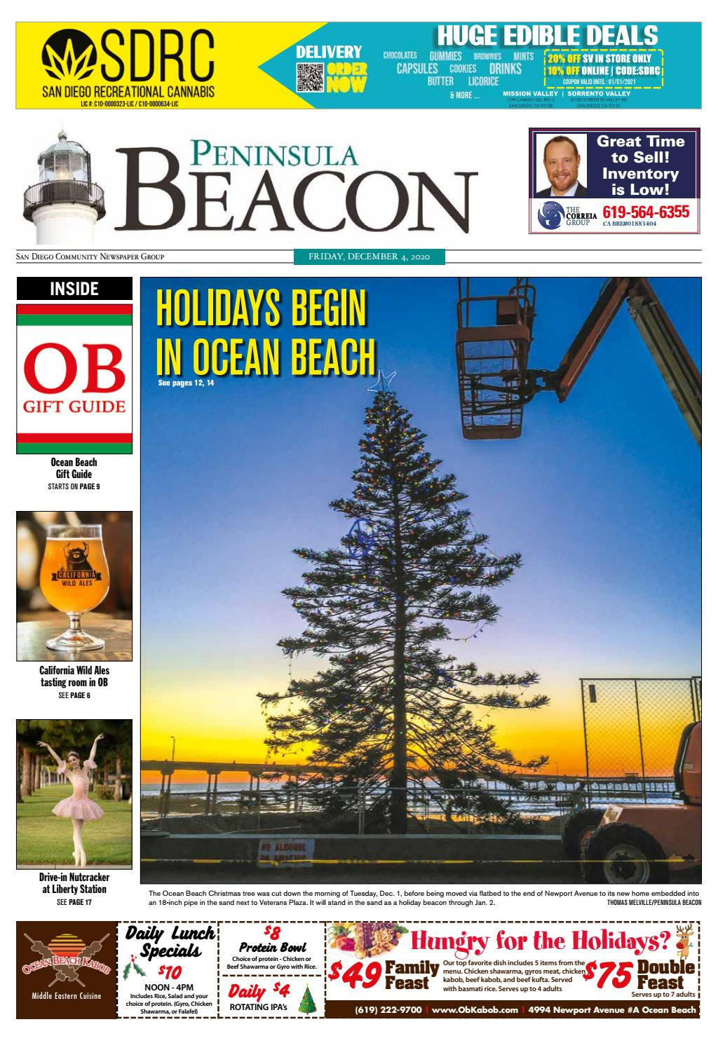 Sorrento Valley Zip Code : sorrento, valley, Peninsula, Beacon,, December, Diego, Community, Newspaper, Group, Issuu