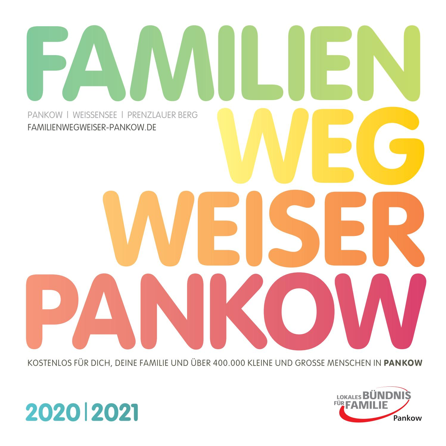 Familienwegweiser Pankow 2020 2021 By In Touch Berlin Lokalmarketing Issuu