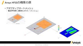電磁界現象に最適なメッシュ生成を可能にする「アダプティブオートメッシュ」技術について