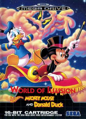 Mickey Et Donald Megadrive : mickey, donald, megadrive, World, Illusion, Starring, Mickey, Mouse, Donald, Megadrive, Jeuxvideo.com