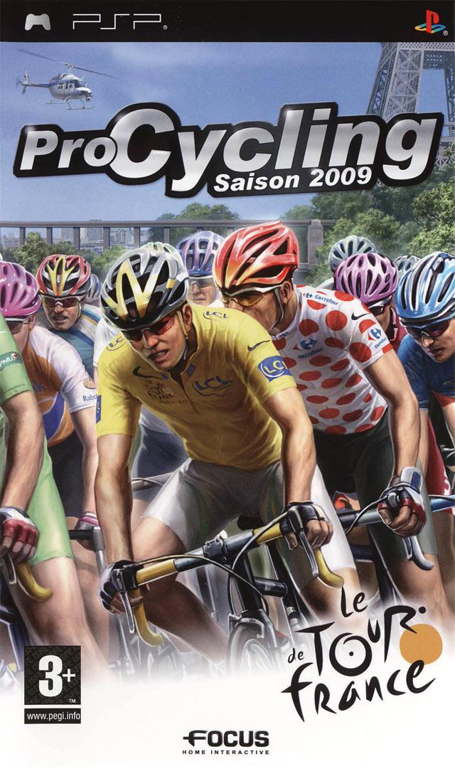 Pro Cycling Saison 2009 sur PlayStation Portable