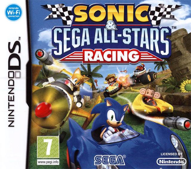 Sonic Amp Sega All Stars Racing Sur Nintendo DS