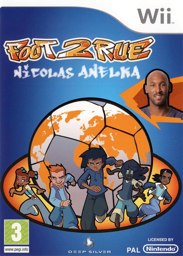 Jeux De Foot De Rue : Nicolas, Anelka, Jeuxvideo.com
