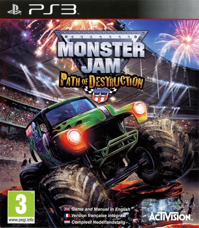 Monster Jam Path Of Destruction Sur PlayStation 3