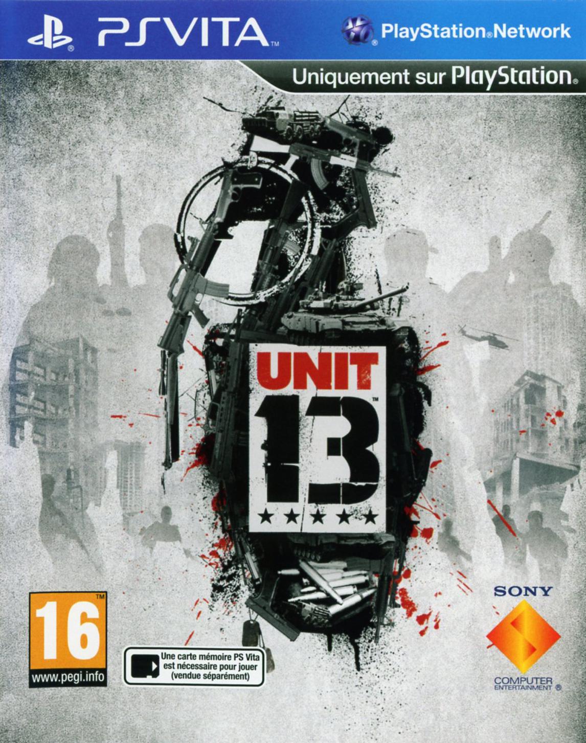 Unit 13 Sur PlayStation Vita