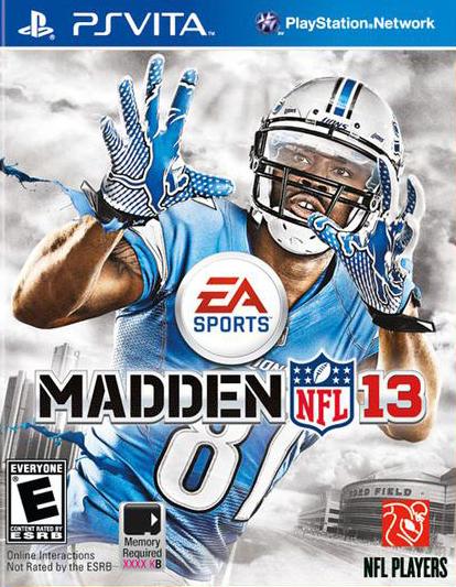Madden NFL 13 Sur PlayStation Vita