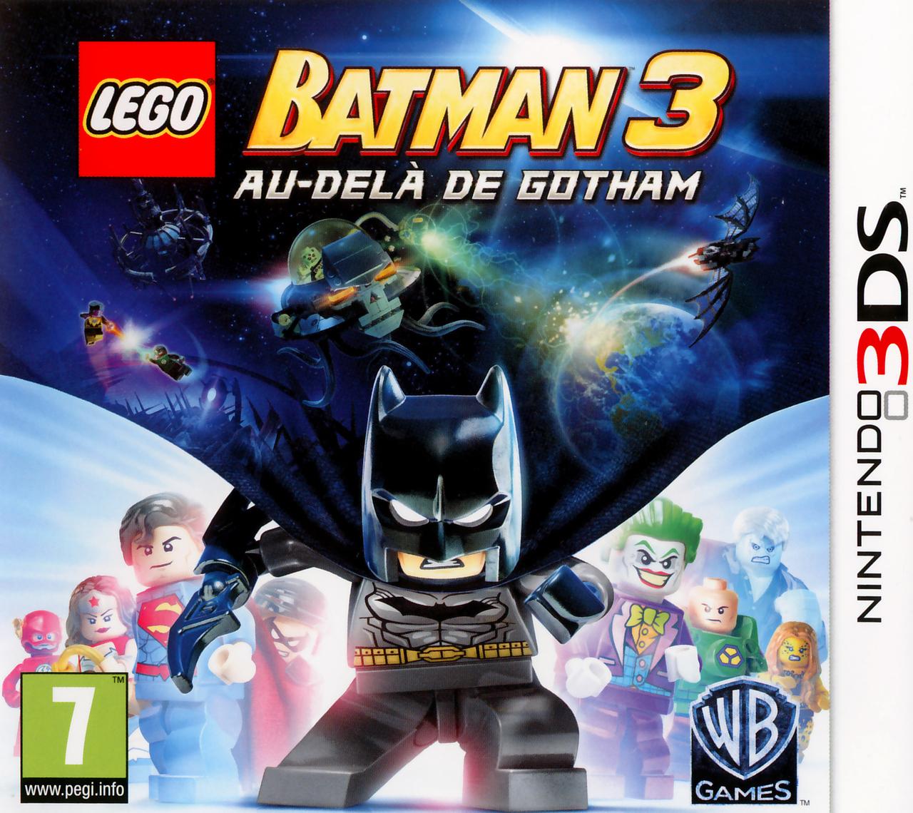 LEGO Batman 3 Au Del De Gotham Sur Nintendo 3DS