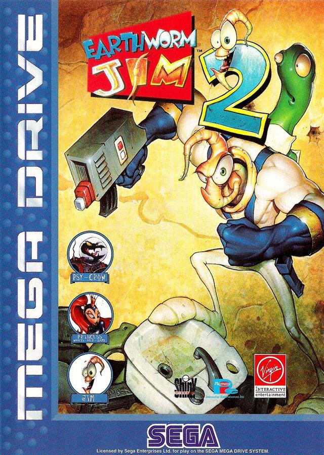 Jeux De Verre De Terre : verre, terre, Earthworm, Megadrive, Jeuxvideo.com