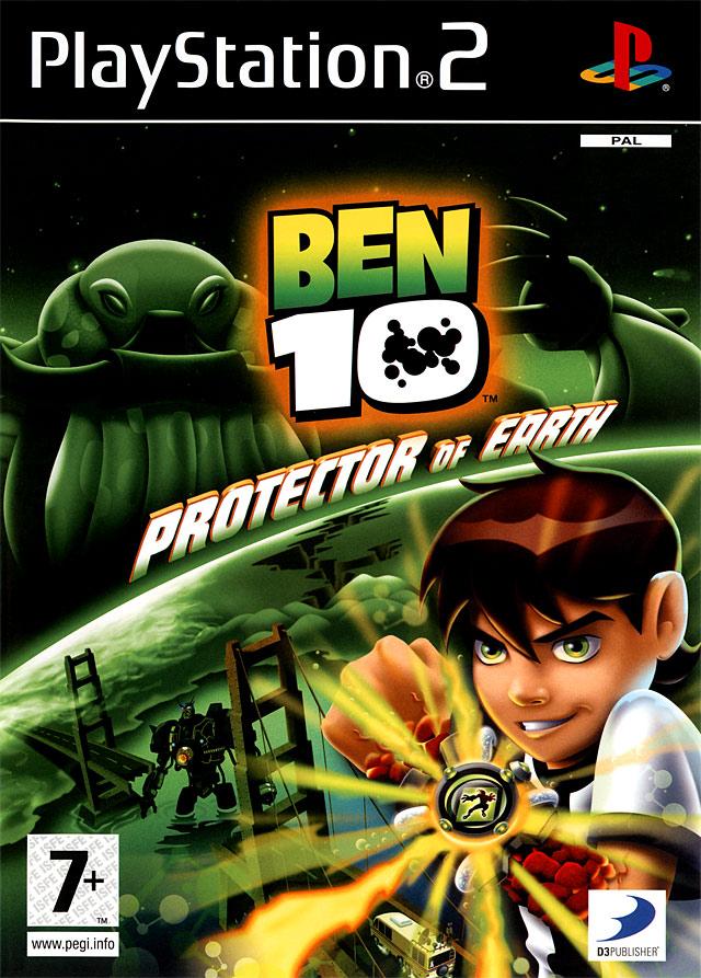 Ben 10 Protector Of Earth Sur PlayStation 2