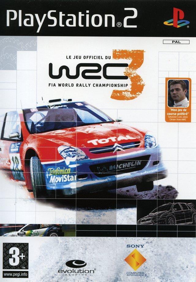 WRC 3 Sur PlayStation 2