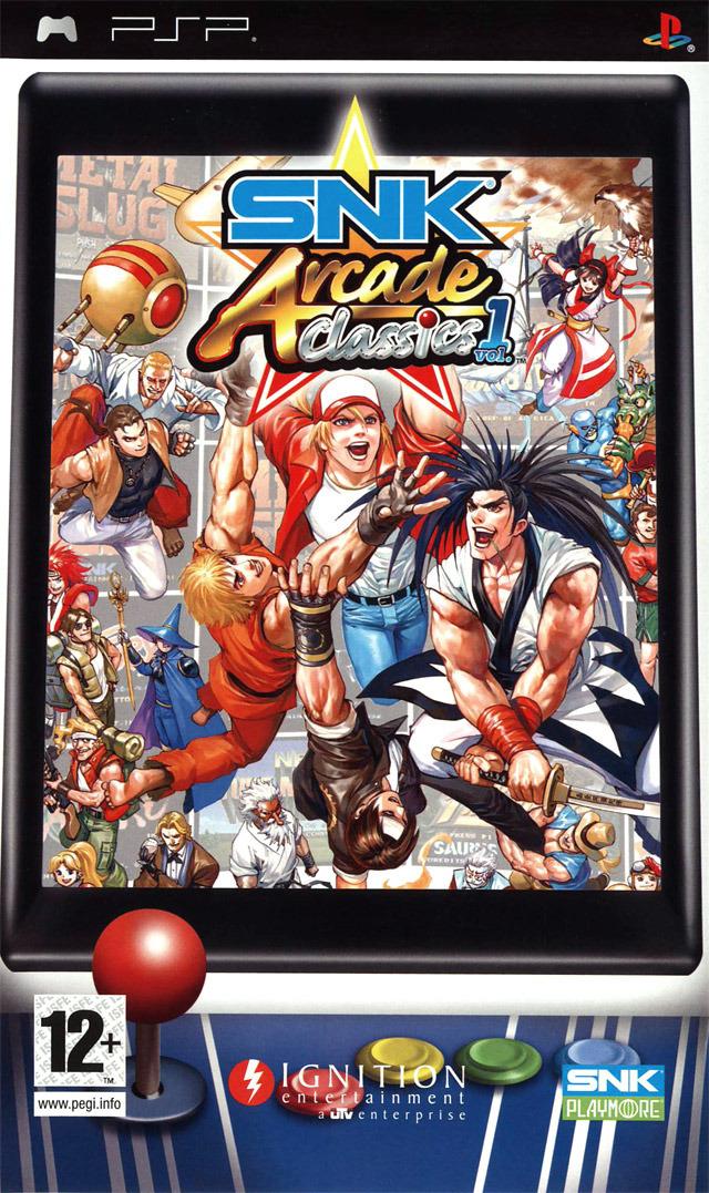 SNK Arcade Classics Volume 1 Sur PlayStation Portable