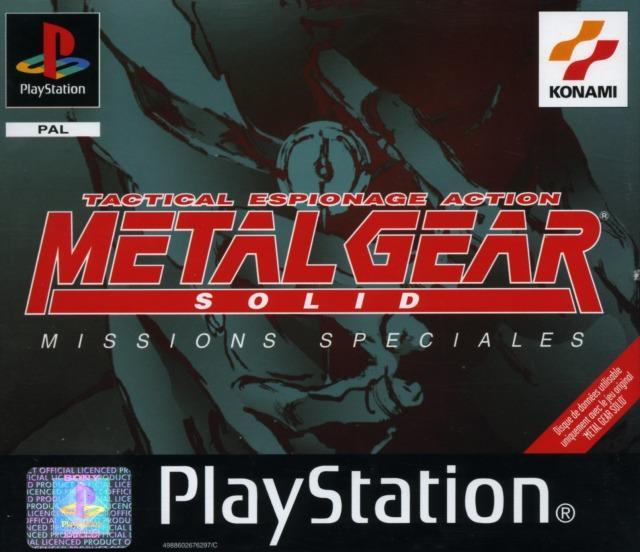 Metal Gear Solid Missions Spciales Sur PlayStation