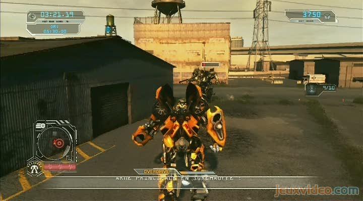 Gaming Live Transformers La Revanche