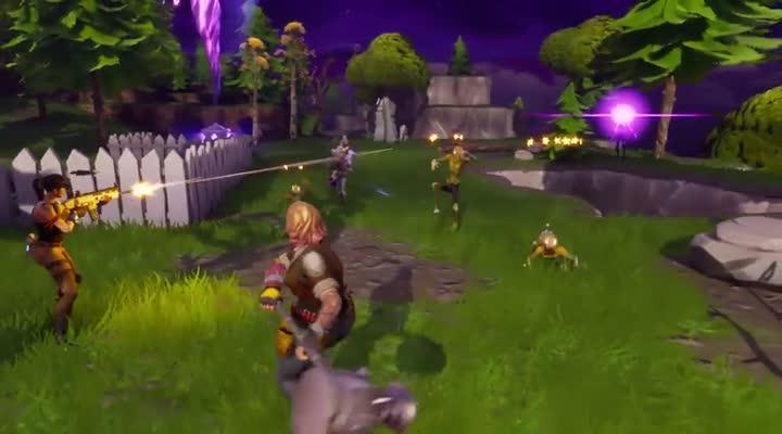 Gameplay Fortnite Refait Surface Avec Quatre Minutes De