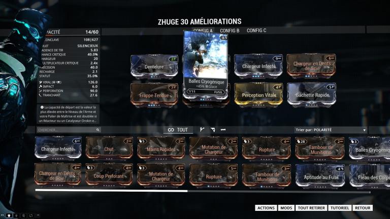 Mods Astuces Et Guide Warframe