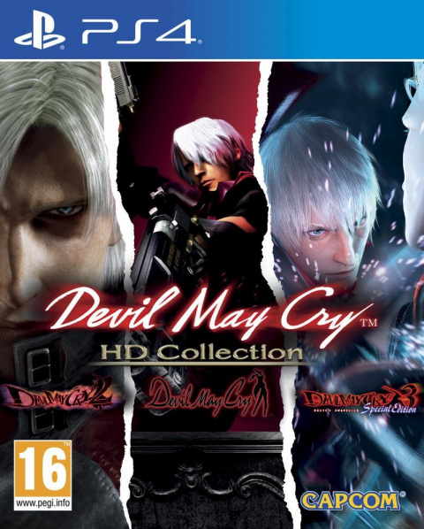 Devil May Cry HD Collection sur PlayStation 4 - jeuxvideo.com