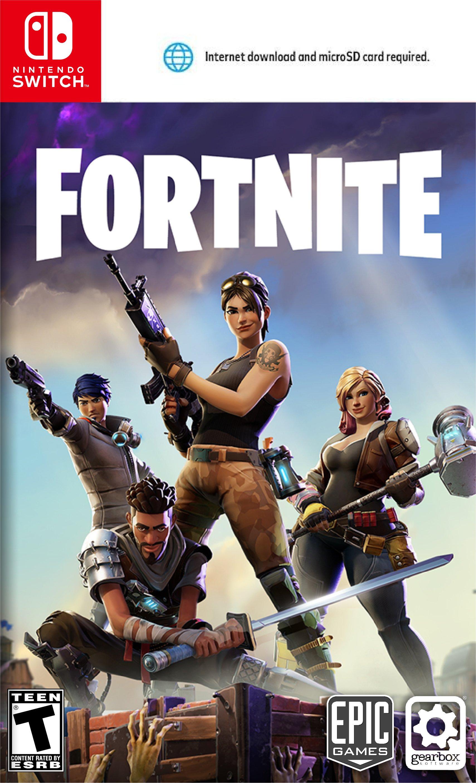 Fortnite A Partir De Quel Age : fortnite, partir, Fortnite, Nintendo, Switch, Jeuxvideo.com