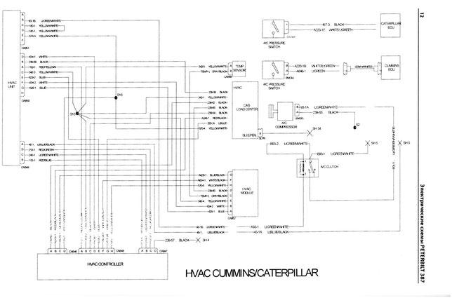 2005 peterbilt 379 wiring diagram rj45 type b schematic 3406e www toyskids co 56 pdf free truck
