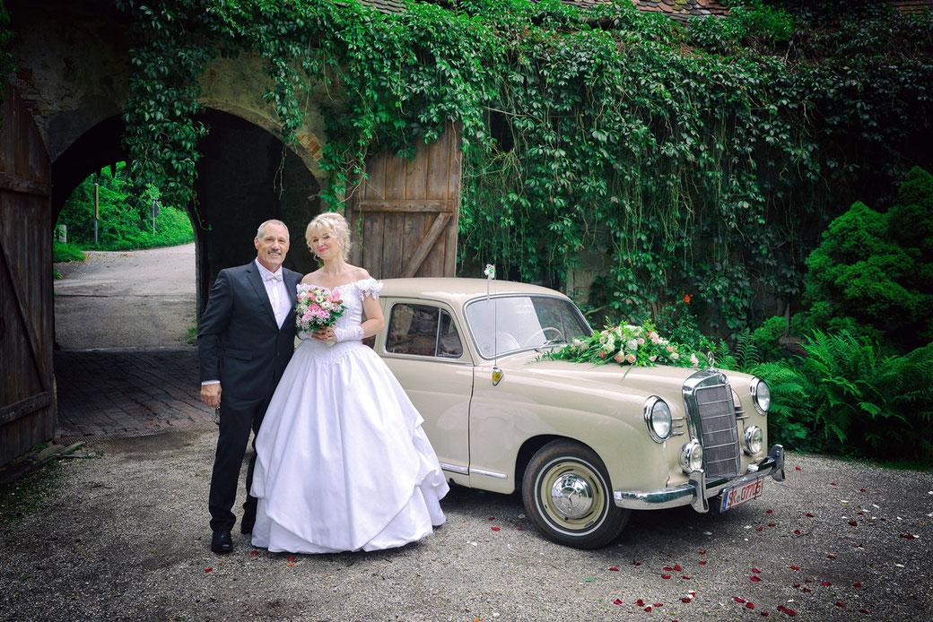 Hochzeit auf Schloss Egg  BayWald  Fotograf Sylt