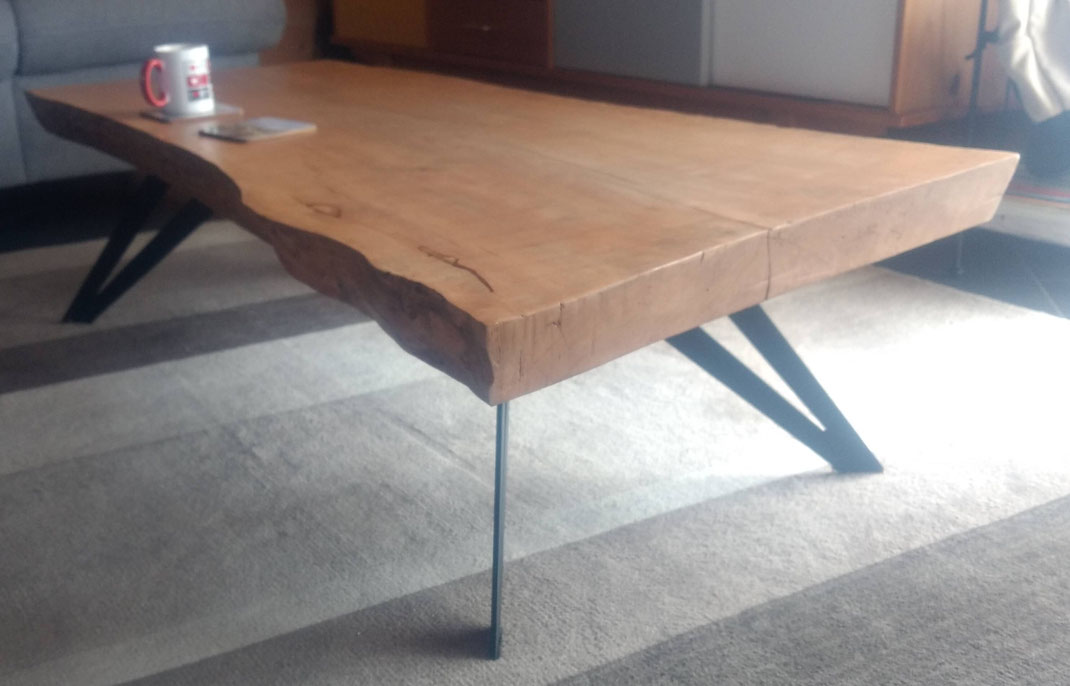 pied de table basse delya h 25 cm