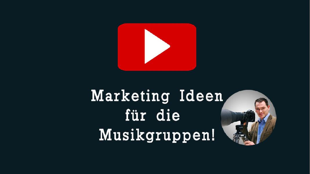 Musikband Marketing Ideen  Studio Alex