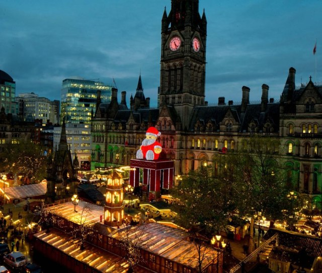 Christmas City Break In Manchester Copyright Manchester City Council European Best Destinations