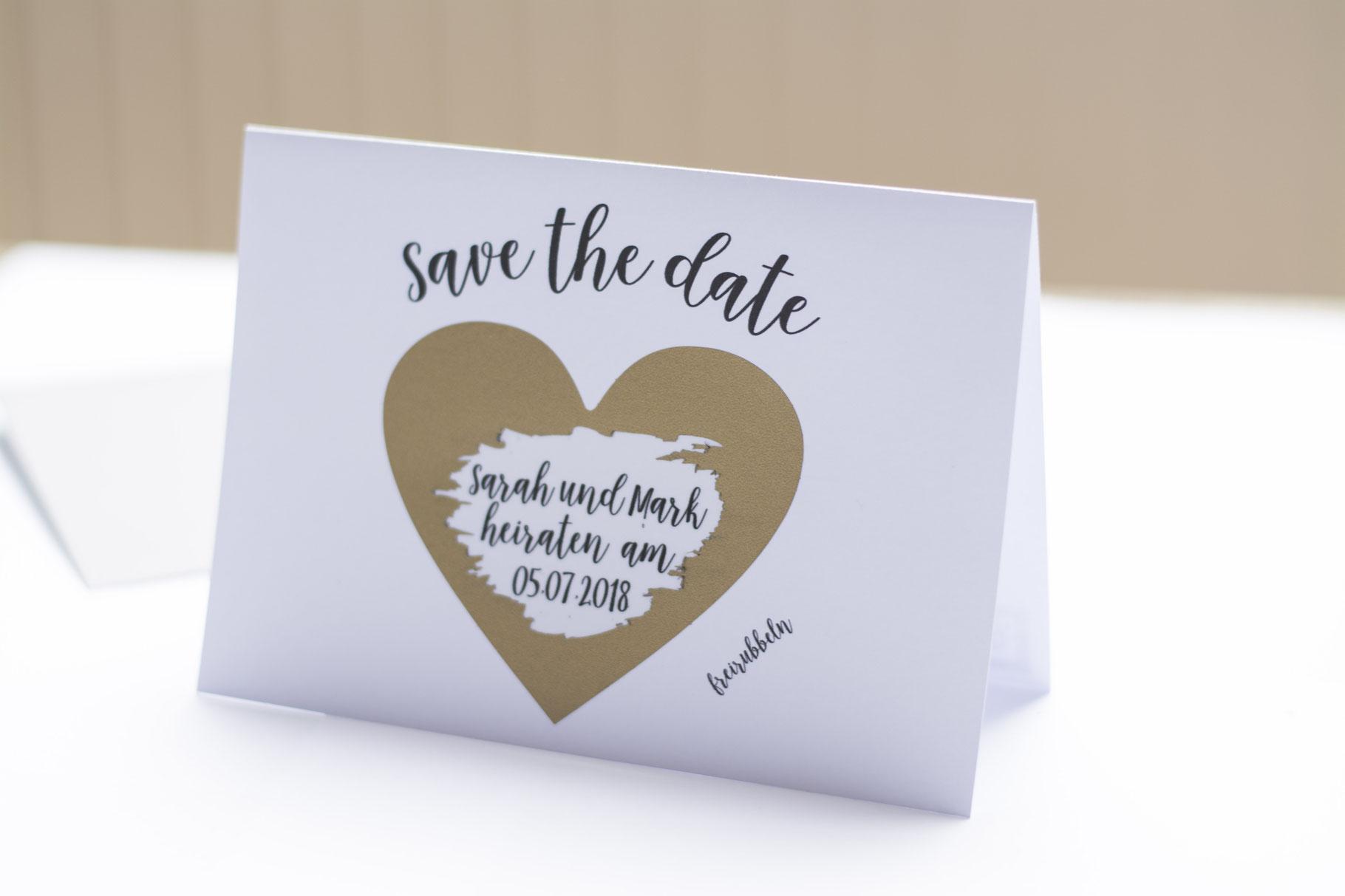 Online Wedding Save Date