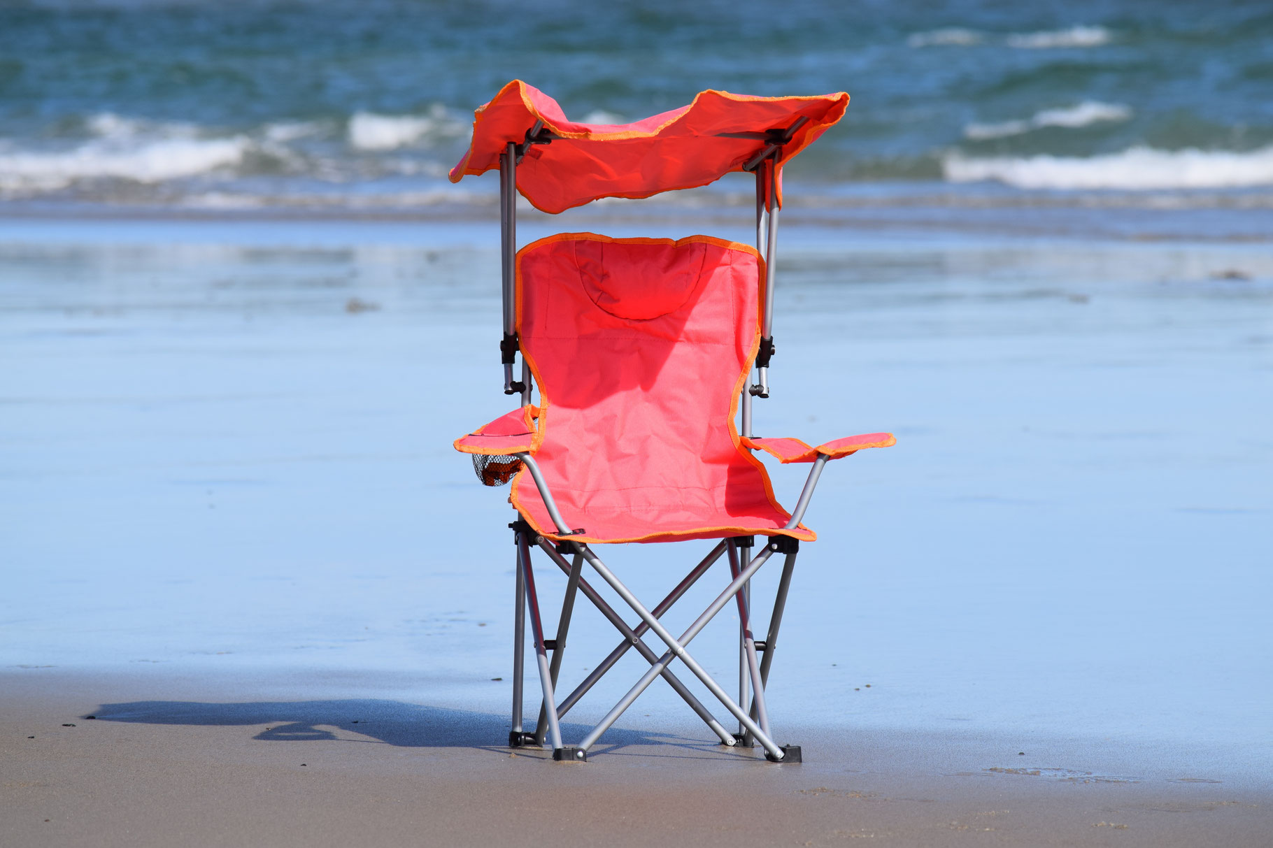 kids chair with canopy recliner camp coastal vacation supplies for rent