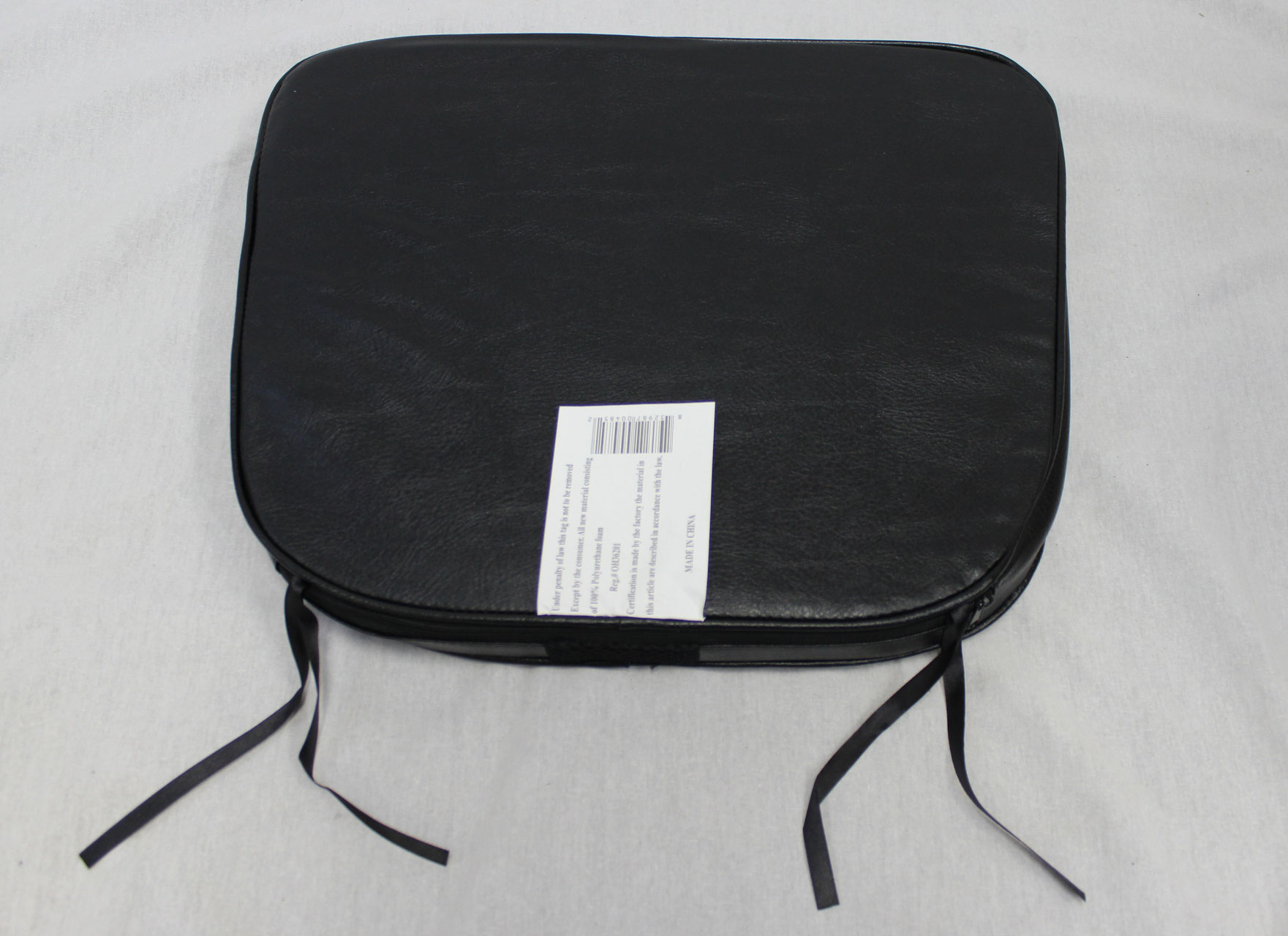 faux leather chair pads stackable office chairs with arms seat cushions 4 piece set ehemco