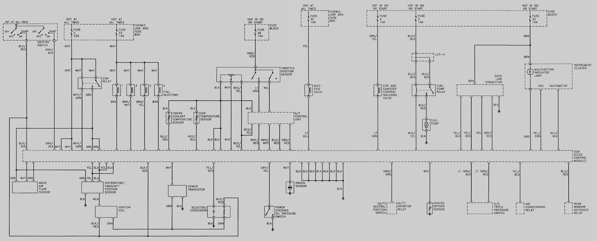 hight resolution of 1994 5 nissan infiniti wiring schematic