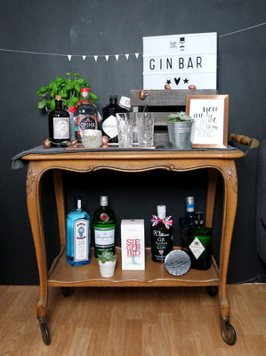 Gin Bar  YAYday Events  Design