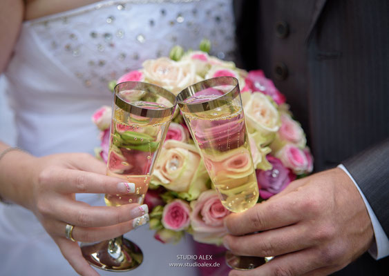 Hochzeitsfotografie Amberg Oberpfalz  Studio Alex