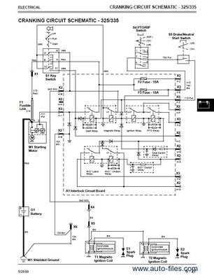 John Deere Lt 133 Wiring Diagram : deere, wiring, diagram, Deere, Service, Repair, Manuals., Wiring, Schematic, Diagrams, Download, Manuals
