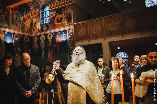 GriechischOrthodoxe Taufe in Brhl  Hochzeitsfotograf in