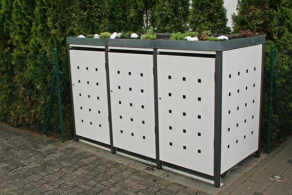 Mülltonnenboxen Aus Metall  Made In Germany  Metallmoebel24