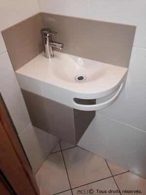 particulier salle de bain